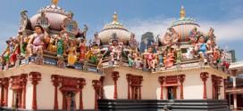 Diese indischen Tempel findet man viel in Little India in Singapur