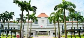 Das Parlamentsgebäude von Singapur