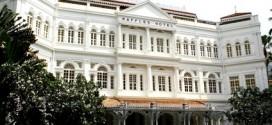Weltberühmter Anlaufpunkt in Singapur: Das Raffle Hotel