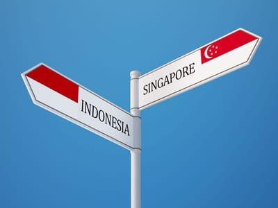 Ausflüge von Singapur nach Indonesien sind keine Seltenheit