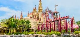 Die Universal Studios mit Abenteuerpark sind ebenfalls ein begehrter Anlaufpunkt auf Sentosa in Singapur