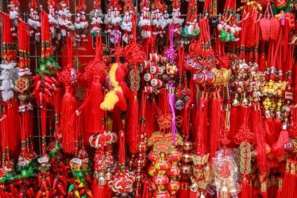 Souvenirs gibt es zahlreiche in Chinatown von Singapur