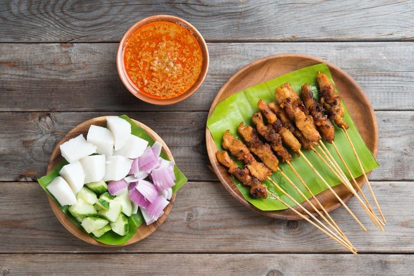 Chicken Sate nach Malayischem Rezept