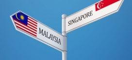 Von Singapur kann man sehr schnell einen Ausflug nach Malaysia unternehmen