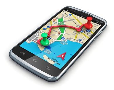 Heutzutage kann man sich sehr gut mit mobilen Endgeräten orientieren und im Internet surfen